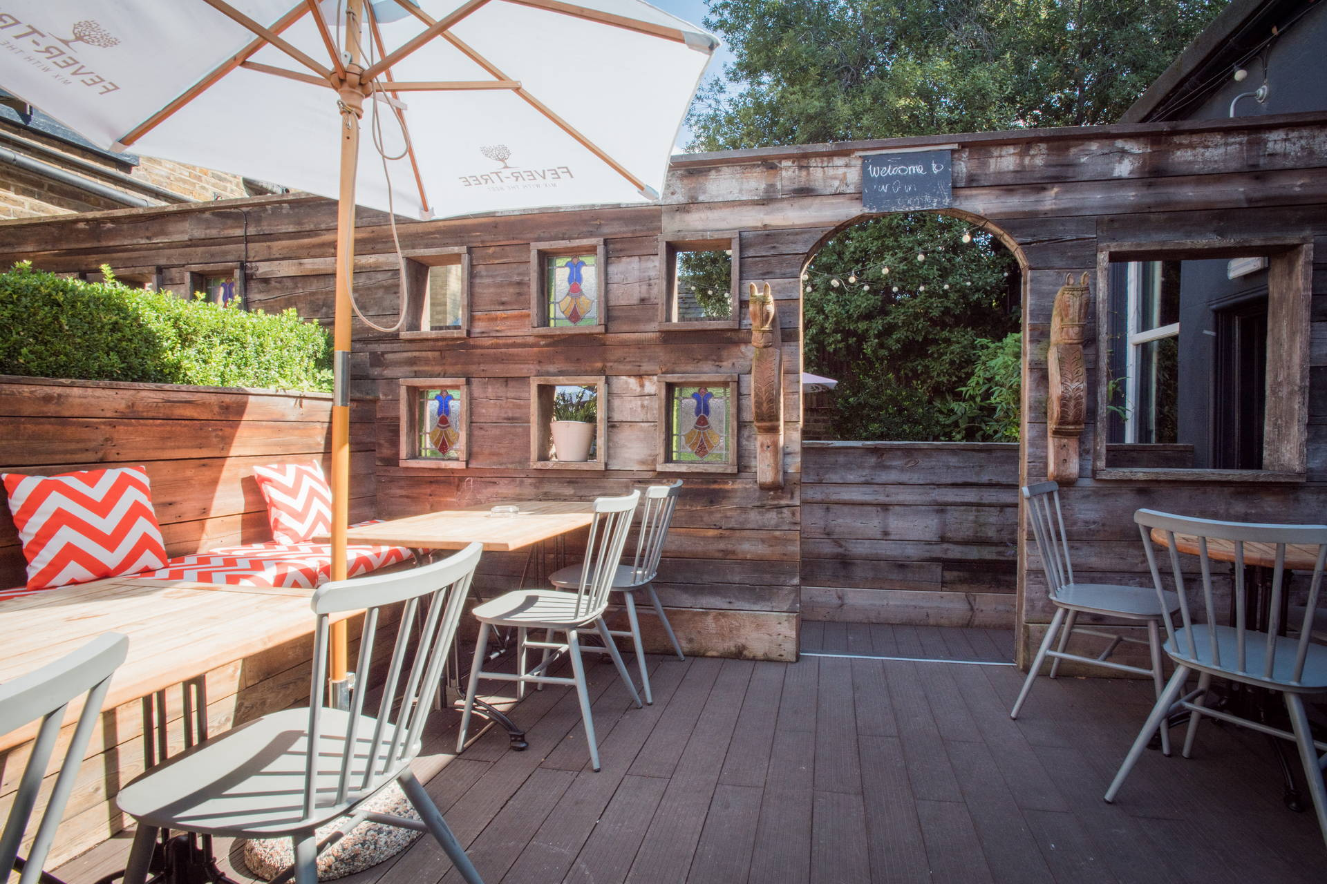 Beer Garden in Chiswick | The Pilot